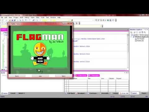 How to make a trainer / hacker with Visual Studio for any flash game!