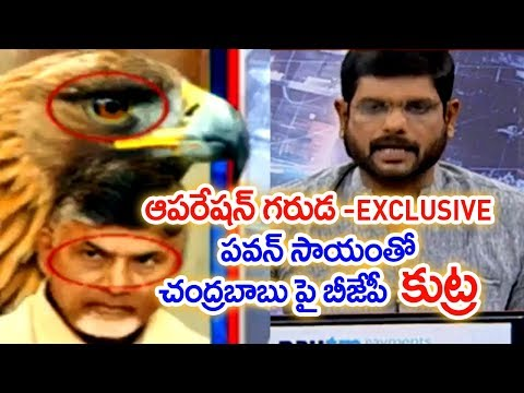 BJP Planning to Destroy TDP in Andhrapradesh | Intelligence Report Named as OPERATION GARUDA #1