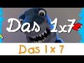 Das 1x7 Lied - Mathe Lernlieder || Kinderlieder