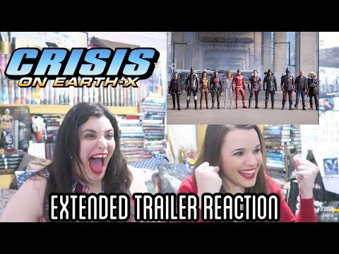 CRISIS ON EARTH X EXTENDED TRAILER REACTION