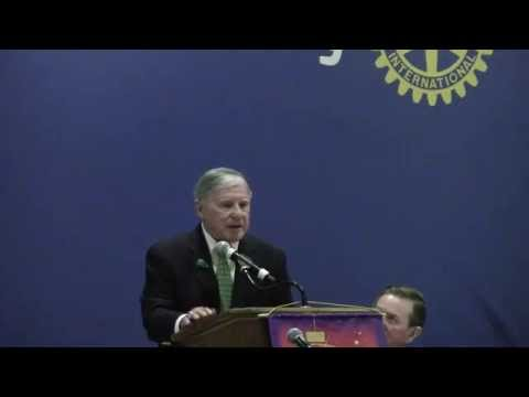 """The Rotary Club of Charlotte March 17 2015 Jim Beatty, """"A world renowned athlete takes a look back"""""""