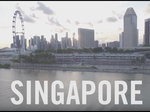 Fly Above Singapore in 4k | Travel + Leisure