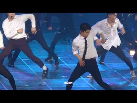 180506 GOT7 EYES ON YOU in SEOUL: Beggin on my knees (Jinyoung focus)