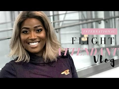 Life of an International Flight Attendant | Accra, GHANA to Zurich, SWITZERLAND | Vlog
