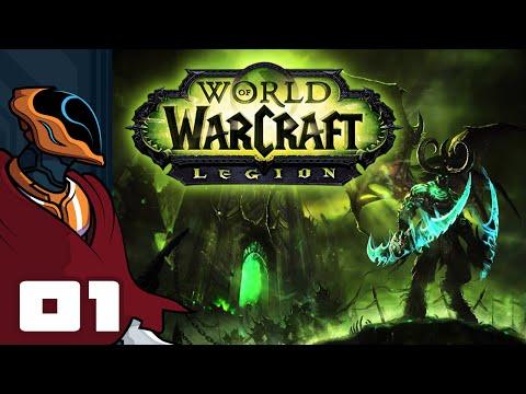 Let's Play World of Warcraft: Legion - PC Gameplay Part 1 - Demon Hunter Starting Zone Pt 1