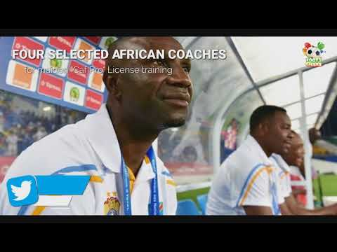 "Footy-GHANA.com :: Four African coaches for maiden ""Caf Pro"" License"
