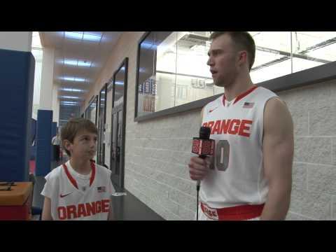 Trevor Cooney Interviews Team Ambassador Nick Trivelpiece - Syracuse Basketball