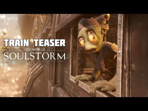 Oddworld: Soulstorm - a Glimpse of a Cinematic from Unity GDC Keynote 2019