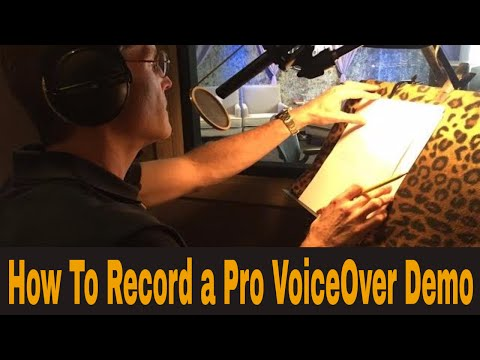 Recording A TV Promo Voiceover Demo with Bob Bergen - Voice Actors, Acting, How To Do Voice Over