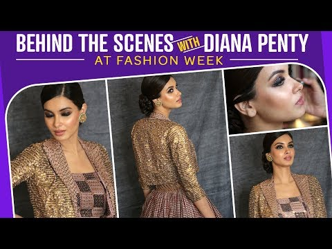 GRWM: Behind the scenes with Diana Penty | Fashion