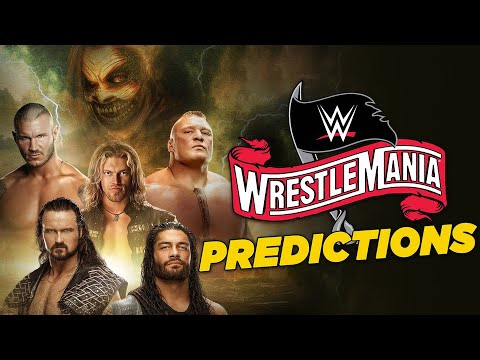 2020 WWE WrestleMania 36 predictions, matches, card, start time ...