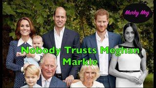 Nobody Trusts Meghan Markle