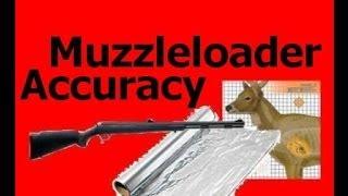 Muzzleloader Accuracy Using Aluminum Foil  - Barrel Size -