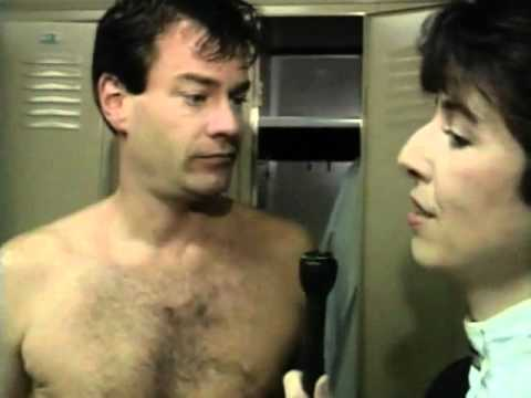 Urbanization Female reporter locker room naked