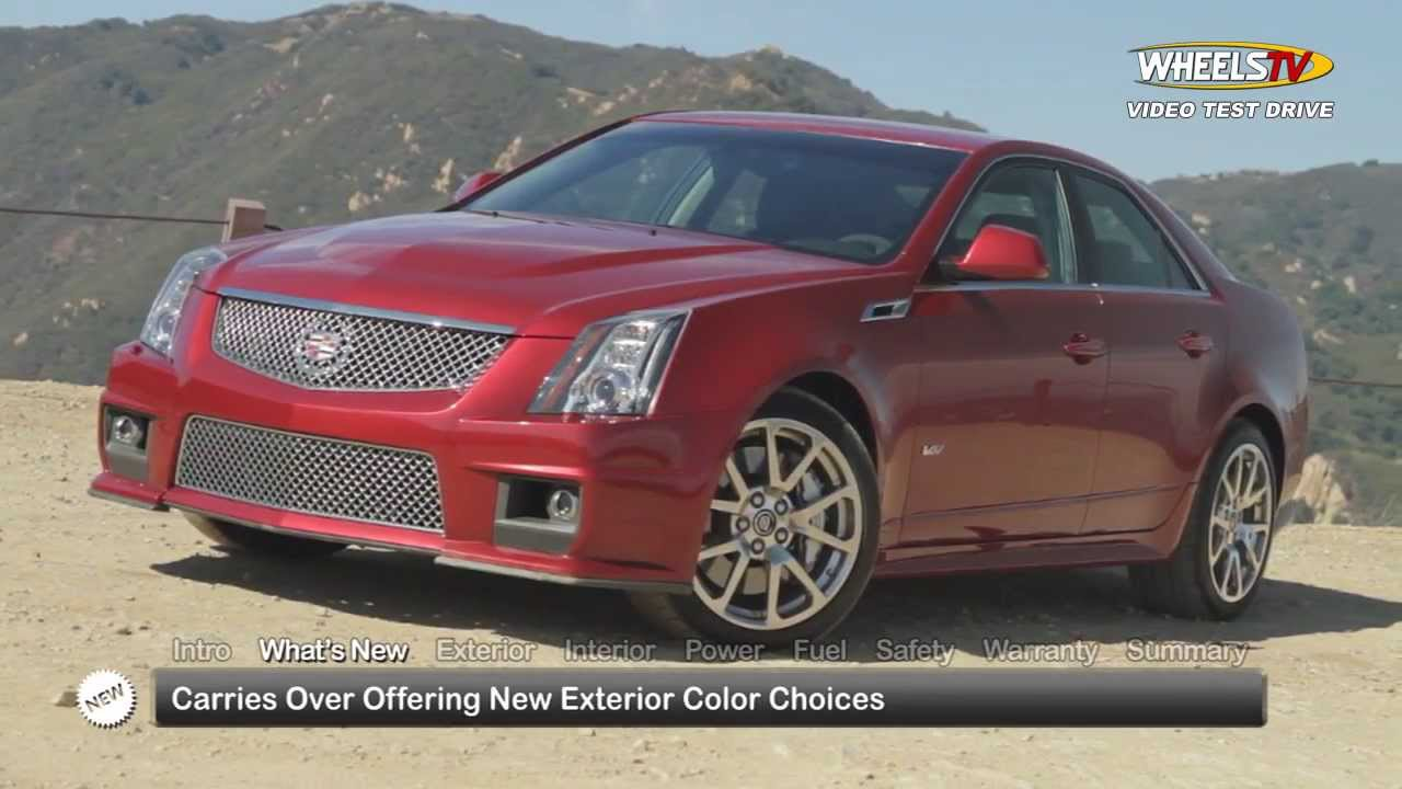 2014 cadillac cts v sedan test drive youtube. Black Bedroom Furniture Sets. Home Design Ideas
