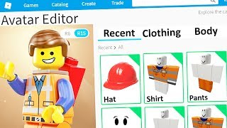 MAKING THE LEGO MOVIE a ROBLOX ACCOUNT
