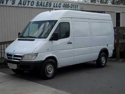 2003 Dodge Sprinter Van; 2.7L Diesel