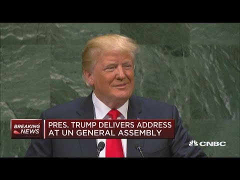 United Nations Laughs At President Trump's Claim