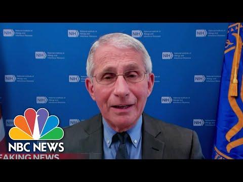 Dr. Fauci Speaks On Johnson & Johnson Covid Vaccine Pause   NBC Nightly News