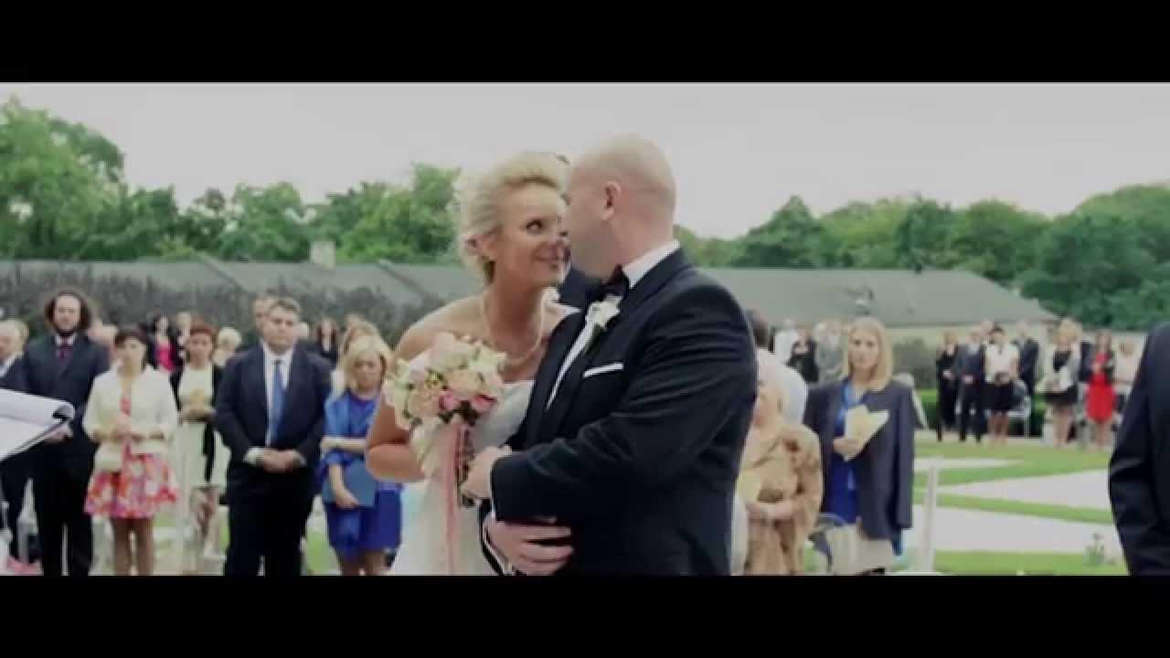Piękny ślub W Plenerze.Outdoor Ceremony