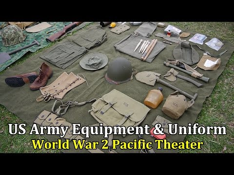 US Army Equipment And Uniform In The Pacific Theater, WW2 | Collector's & History Corner