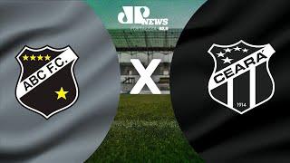 ABC x Ceará - AO VIVO - 01/03/2021 - Copa do Nordeste - Narração Gomes Farias