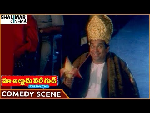 Maa Alludu Very Good Movie  Brahmanandam Hilarious Comedy   Naresh  Shalimarcinema