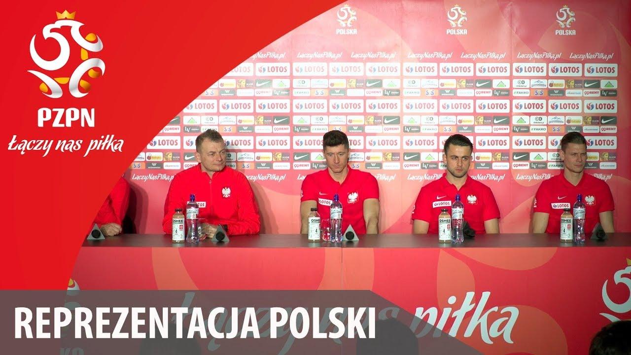 Konferencja reprezentacji Polski (Wrocław, 20.03.2018)