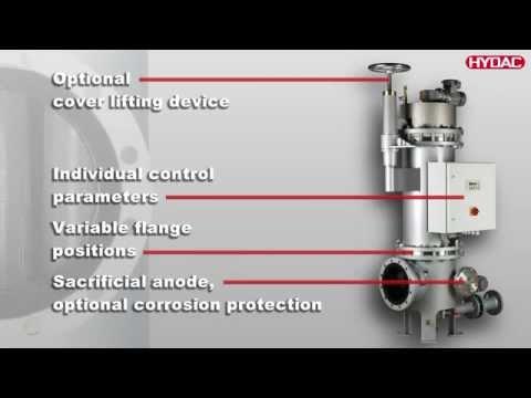 Automatic Back-flushing Filter AutoFilt RF10