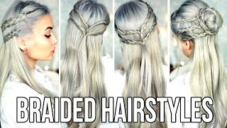 Cute & Easy Braided Hairstyles For School