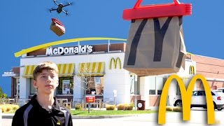 McDonalds Big Mac Delivered by Drone