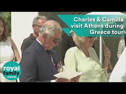 Prince Charles and Camilla visit Athens on three-day Greece tour