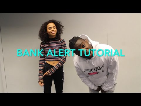 BANK ALERT - Pqsuare Dance TUTORIAL | @reisfernando__ Choreography | Afrodance