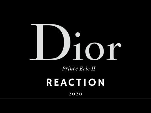 Prince Eric II Reaction/ Dior Men's Pre-Fall Fashion Show 2020