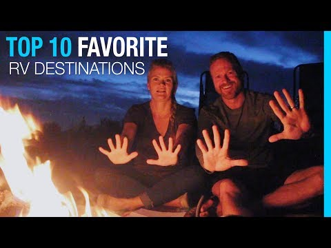 TOP 10 FAVORITE RV DESTINATIONS 📍WEST COAST & CANADA