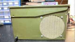 Monobox Ammunition Can Amplified Speaker