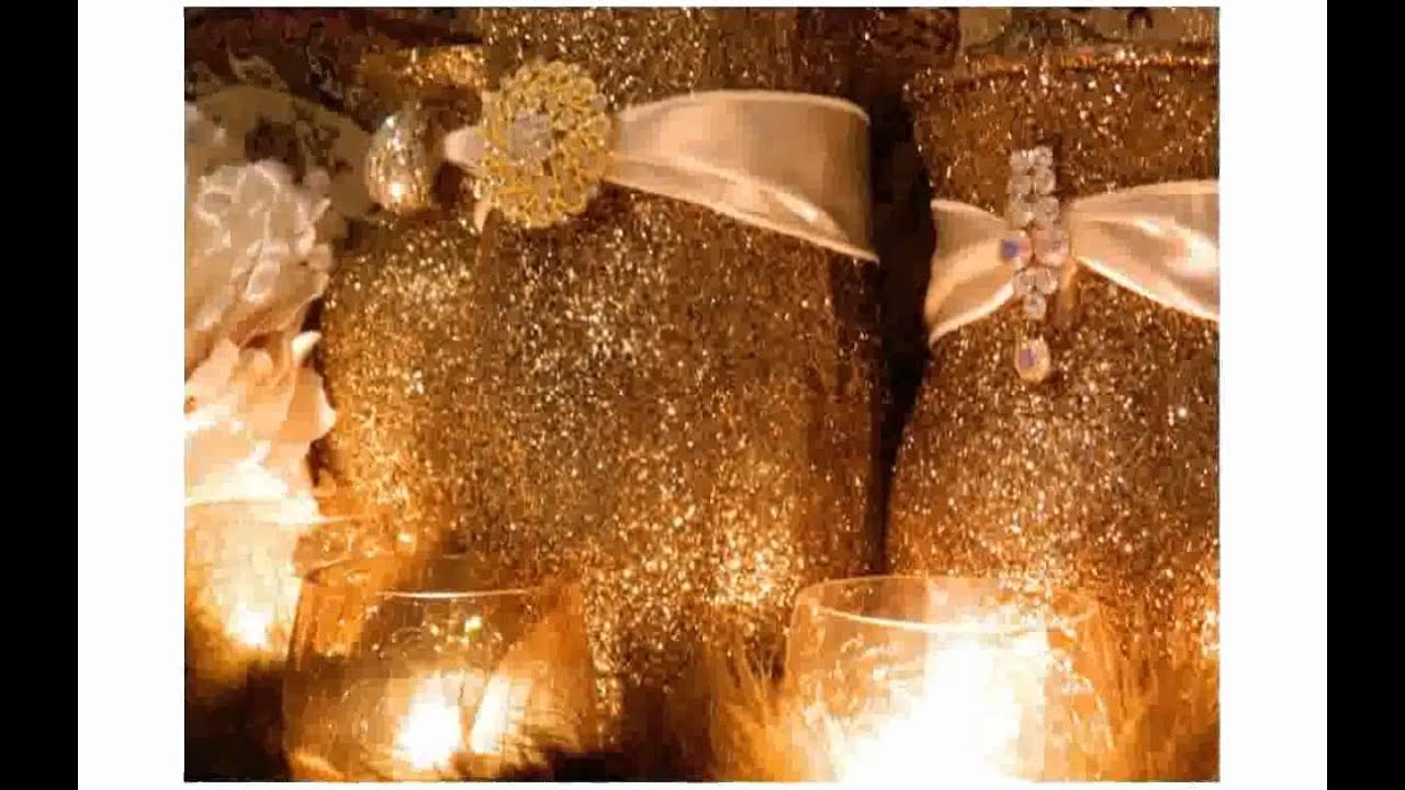 Gold Wedding Centerpieces Youtube