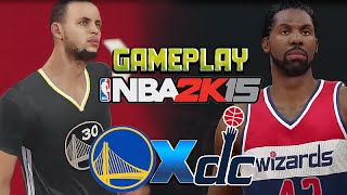 NBA 2K15 Gameplay HD: Wizards x Warriors [ PT BR ]