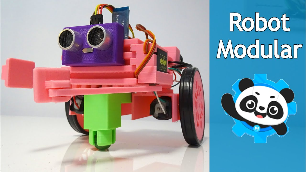ROBOT MODULAR CON ARDUINO EN MBLOCK 5