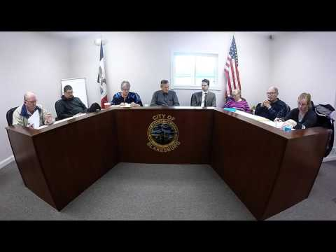 Blakesburg City Council 041116