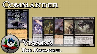 Visara the Dreadful Mono Black EDH/Commander Deck Tech – MTG!