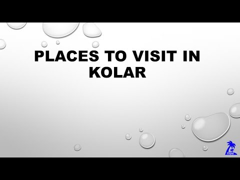 Places to visit in Kolar