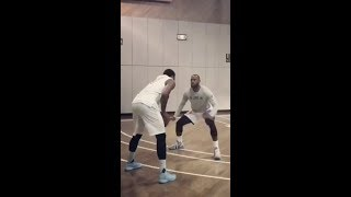 Melo, Lebron, Durant and Other NBA Players Workout in NY