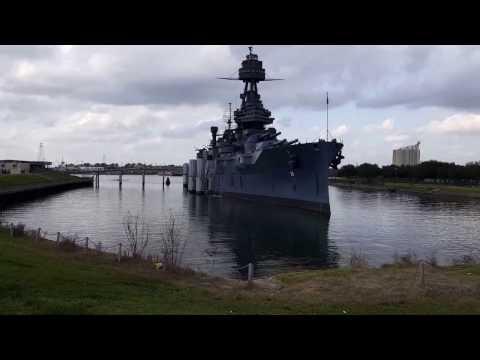 BigRigTravels Segway Adventure - USS Battleship Texas near Houston, Texas