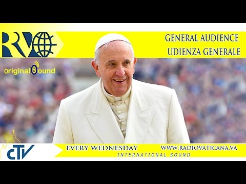 Pope Francis General Audience 2015.04.29