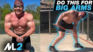 Superset Arm Slam - BAND-ONLY Arm Workout - Home Gym Workout Day 10