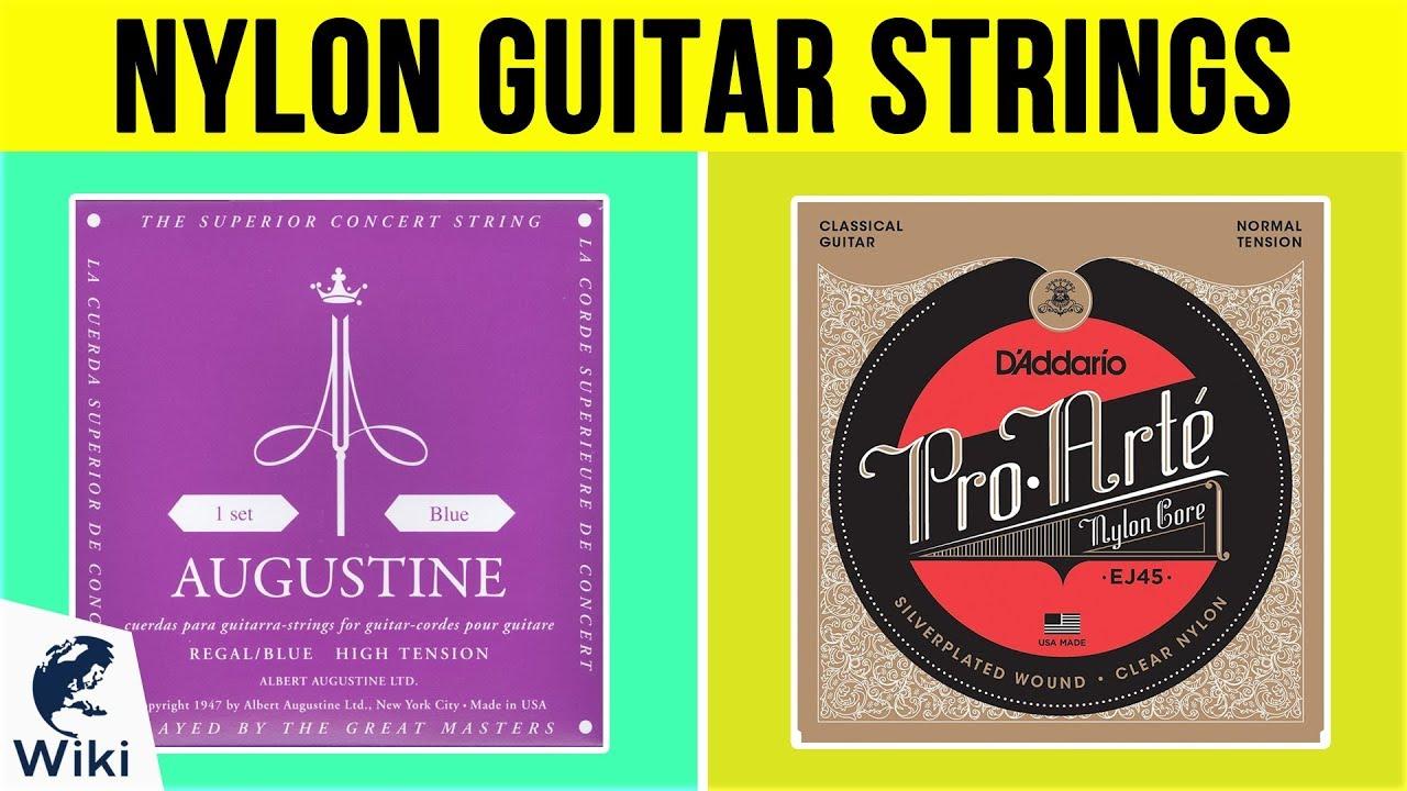 19ff255f9336 10 Best Nylon Guitar Strings 2019 - YouTube