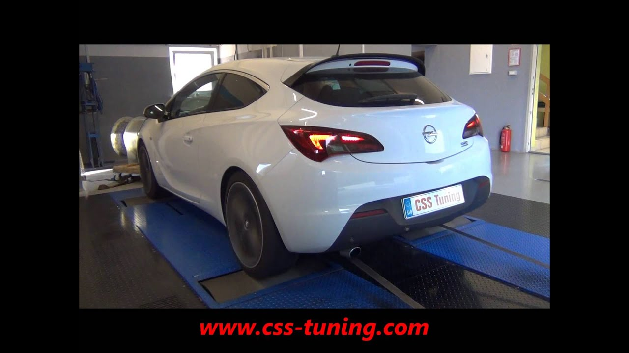 css performance opel astra j gtc 1 4t 120 hp youtube. Black Bedroom Furniture Sets. Home Design Ideas