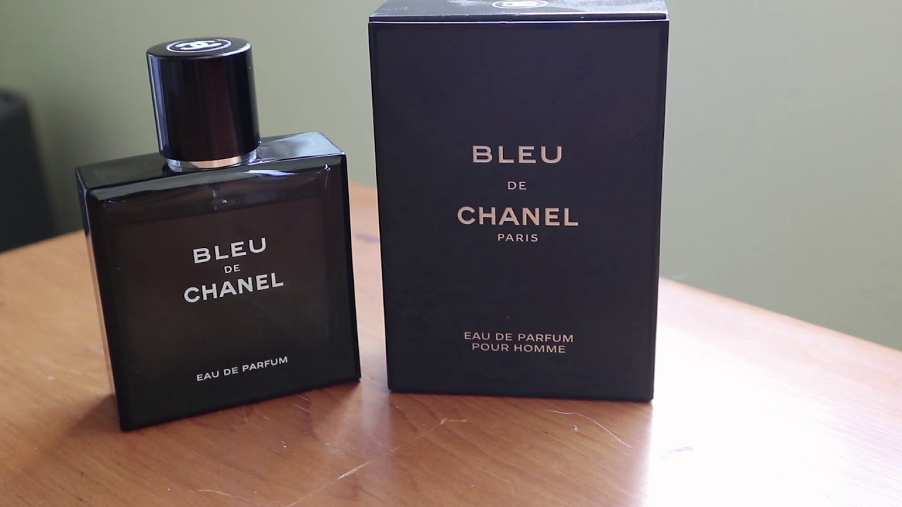 Bleu De Chanel Eau De Parfum Quick Review How To Spot Fakes Youtube