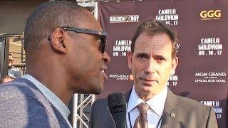 (Golovkin Promoter) Tom Loeffler on PURSE SPLIT Canelo Alvarez vs GGG